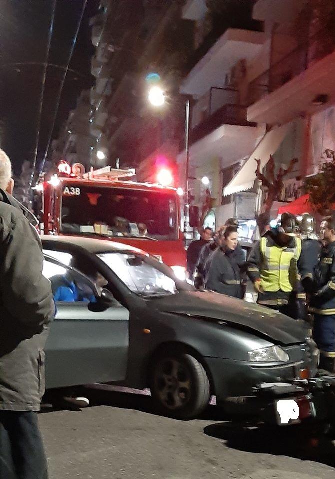Βύρωνας:Σοβαρό τροχαίο με πολυτραυματία