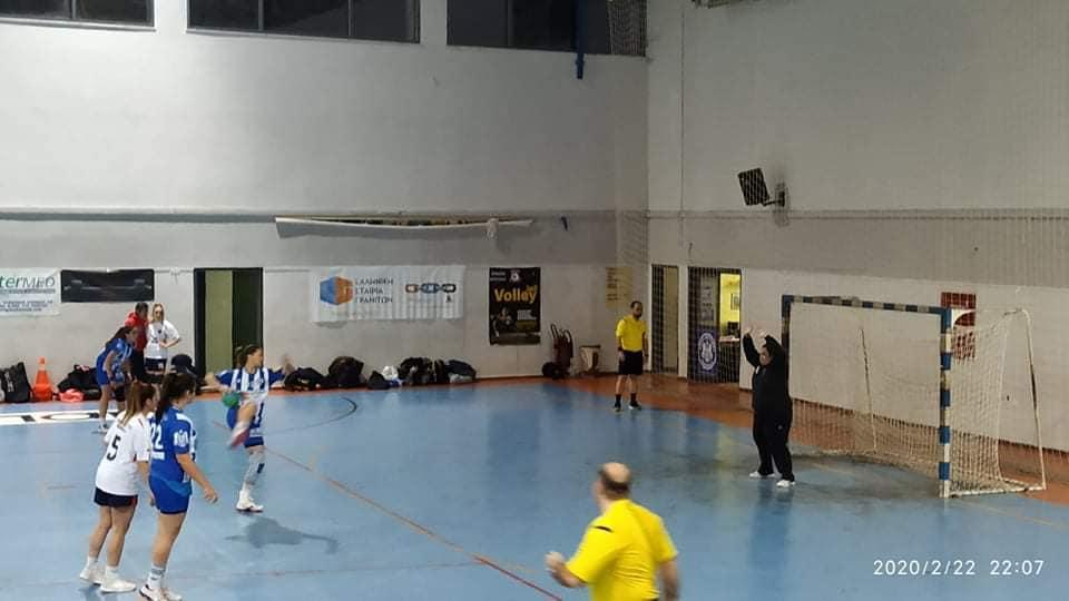 Handball :Δόξα Βύρωνος-Πανιώνιος 21-27
