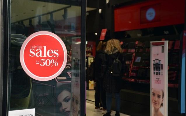 Αυξήθηκε η κίνηση στα καταστήματα λόγω χειμερινών εκπτώσεων σε Βύρωνα, Παγκράτι και Ζωγράφου