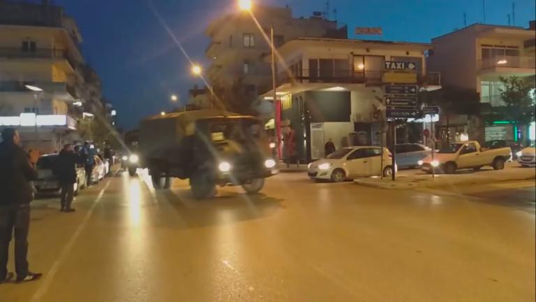Ορεστιάδα: Πολίτες υποδέχονται με χειροκροτήματα φορτηγά του Ελληνικού Στρατού (ΒΙΝΤΕΟ)